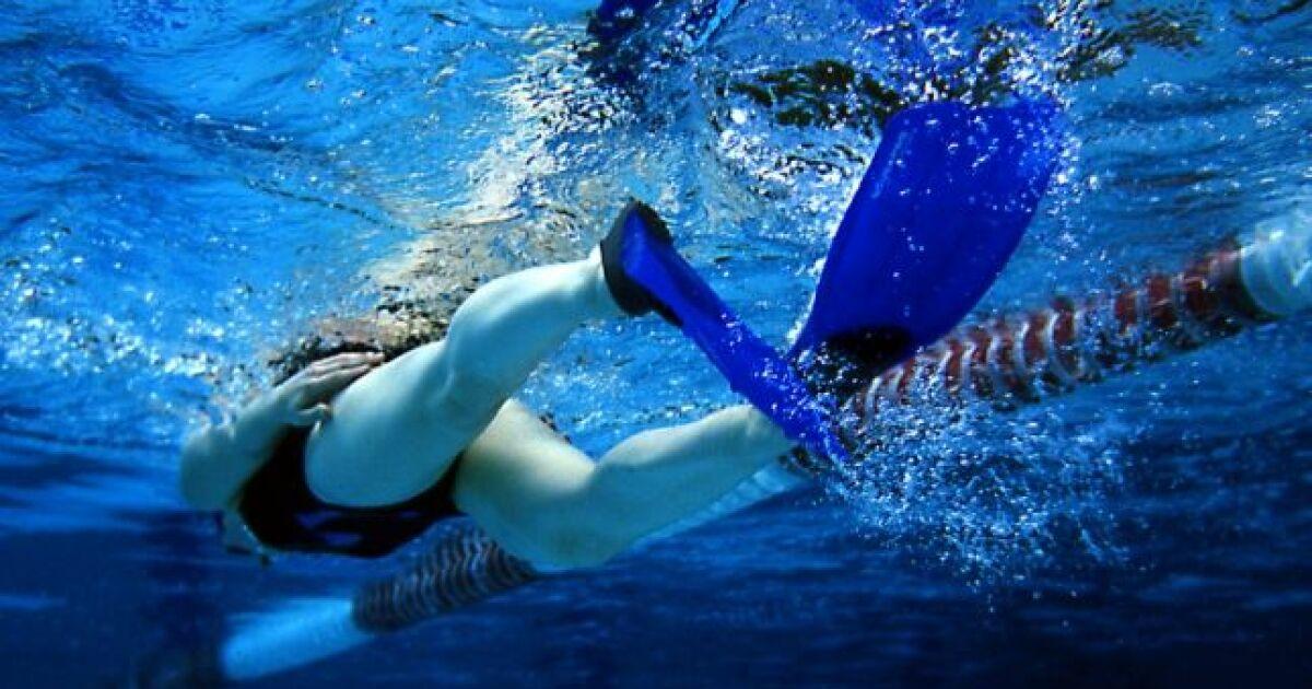 les palmes technique de nage
