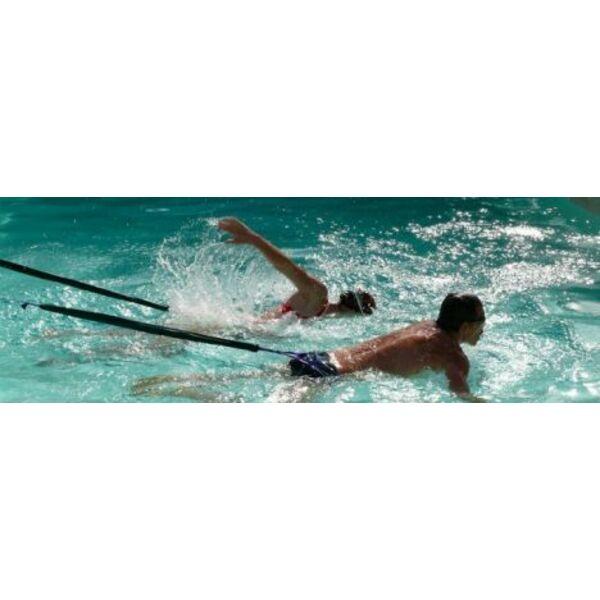 Nager avec un lastique de natation - Elastique pour nager piscine ...