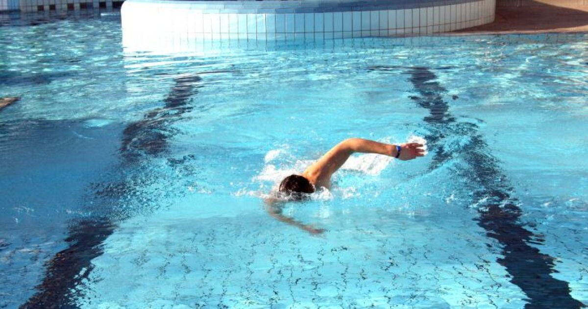 Nager le crawl avec un tuba frontal - Nager avec les dauphins en piscine ...
