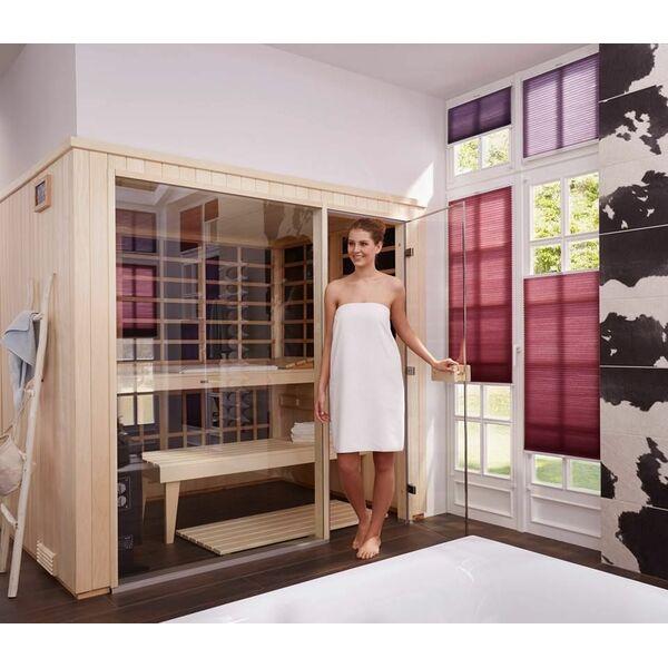 visage vita par helo sauna ne pas avoir choisir entre un sauna traditionnel ou infrarouge. Black Bedroom Furniture Sets. Home Design Ideas