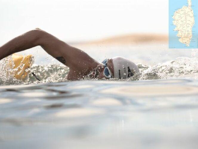 Nicolas Costa, athlète quadragénaire, passionné de nage en eau libre.