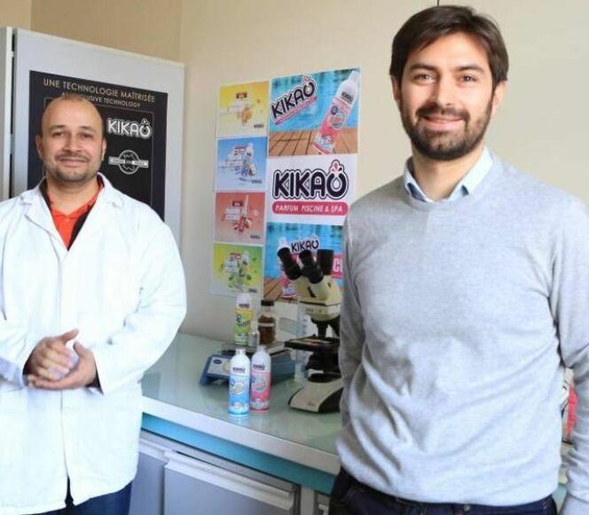 Nicolas Viau et Yacine Hoffmann, les deux fondateurs de la start-up Kikao.