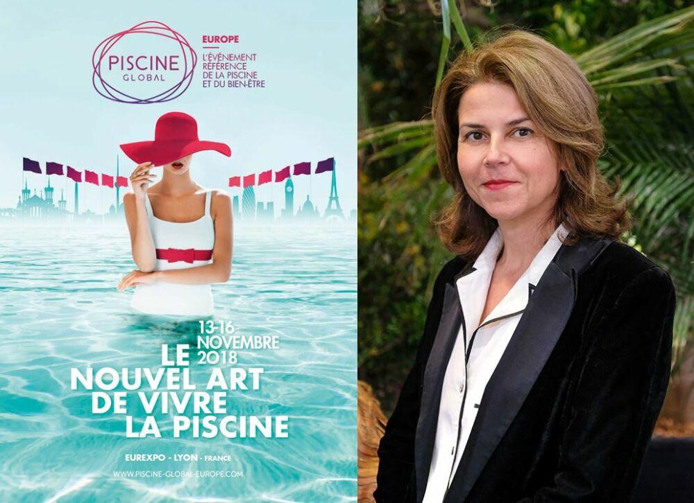 Noémi Petit, directrice du Salon Piscine Global Europe 2018© Salon Piscine Global - Elisabeth Rull