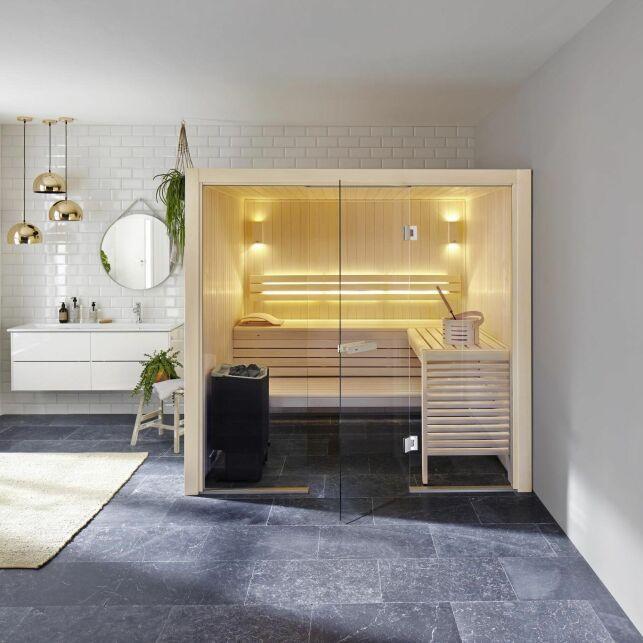 Un sauna haut de gamme et élégant