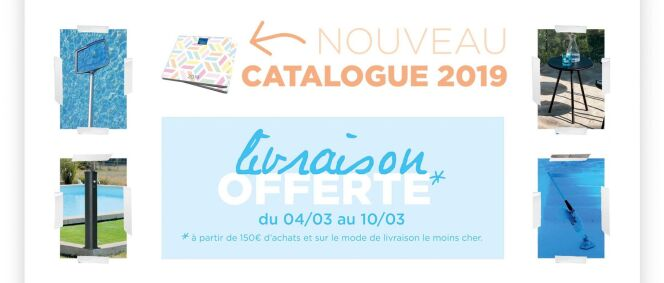 Nouveau catalogue Piscines Desjoyaux pour 2019