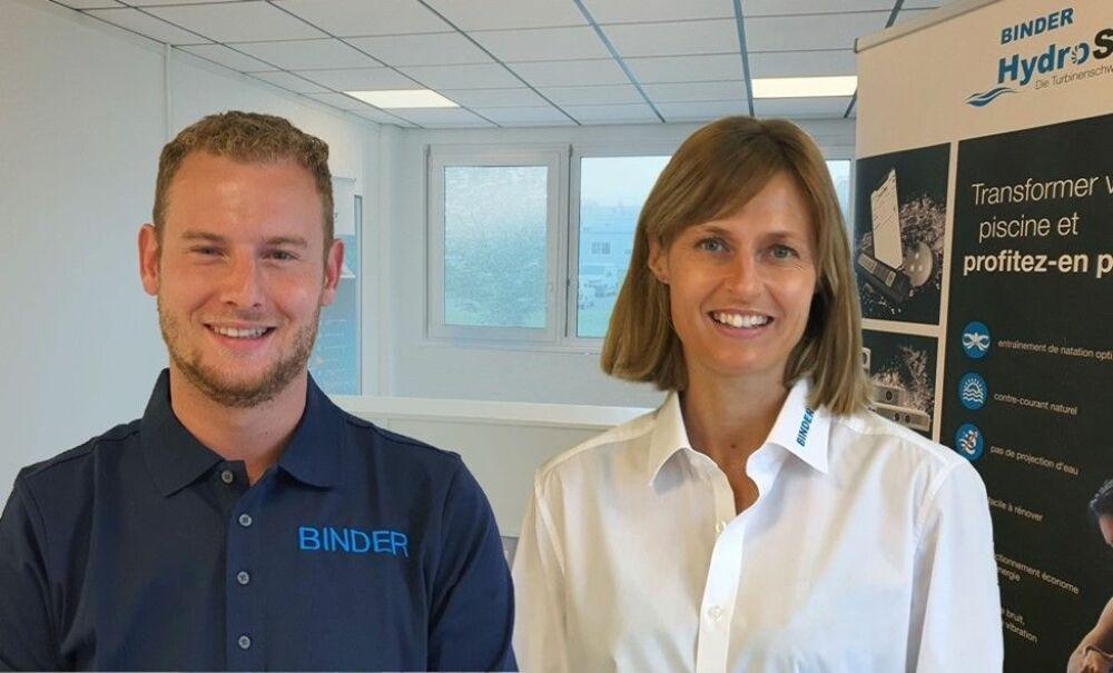 Nouveau distributeur pour Binder © Binder