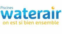 Le logo Piscines Waterair évolue