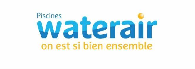 Nouveau logo Piscines Waterair
