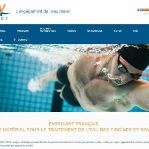 Nouveau site web Avady Pool