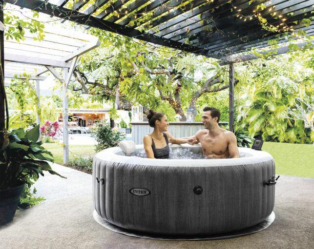 Nouveau spa gonflable Baltik INTEX: un spa tendance d'inspiration scandinave