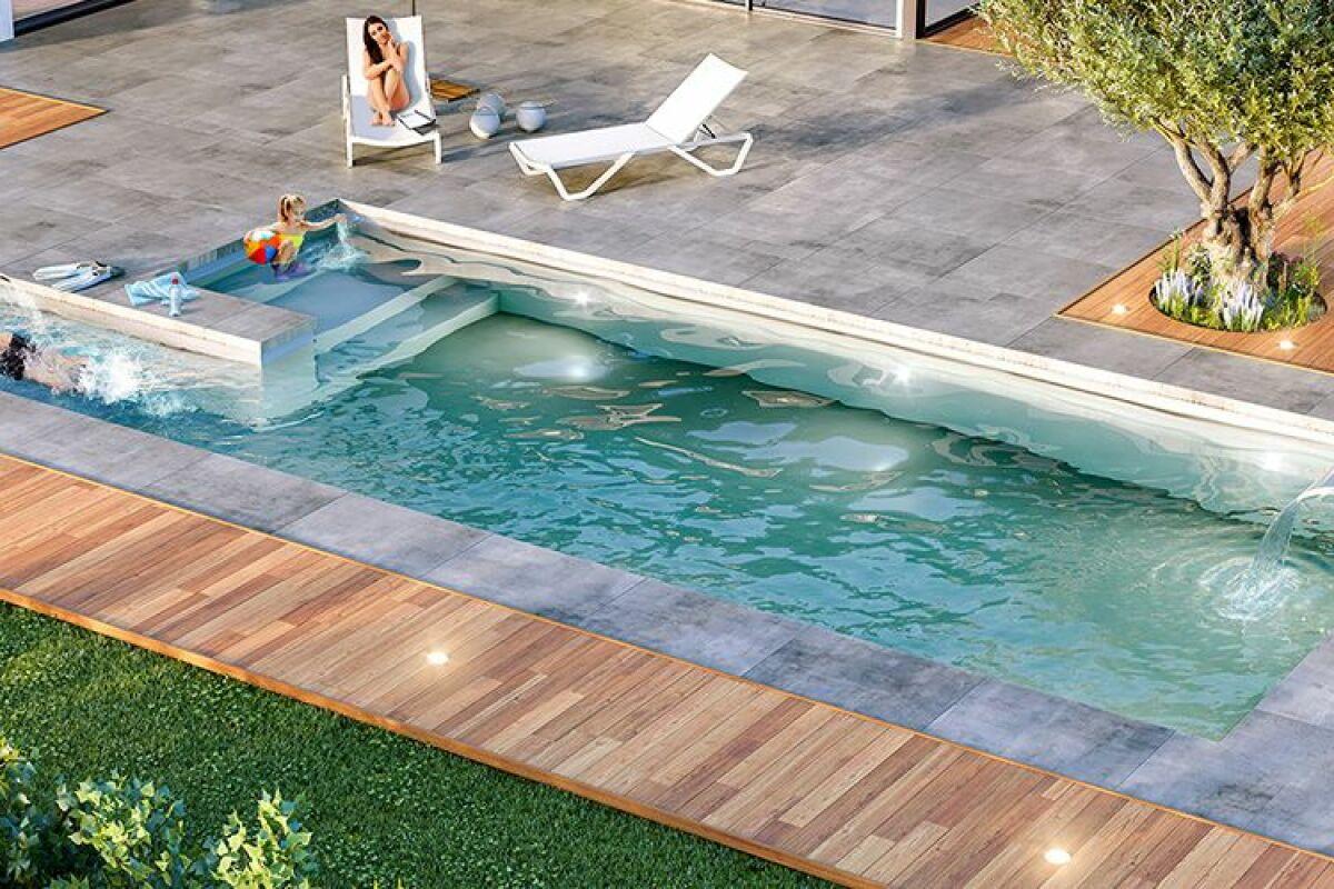 Prix Piscine Aquilus Mini Water nouveauté aquilus 2019 : modèle désirade - guide-piscine.fr
