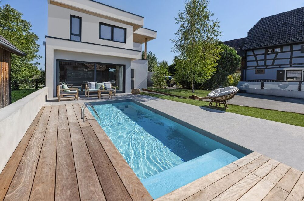 Nouveauté Waterair 2021 : la piscine Nina© Piscines Waterair