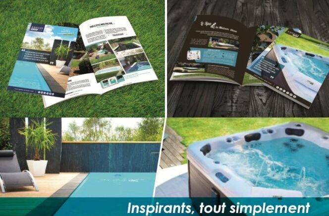 Nouveaux catalogues Aquilus : trouver l'inspiration pour imaginer son projet piscine