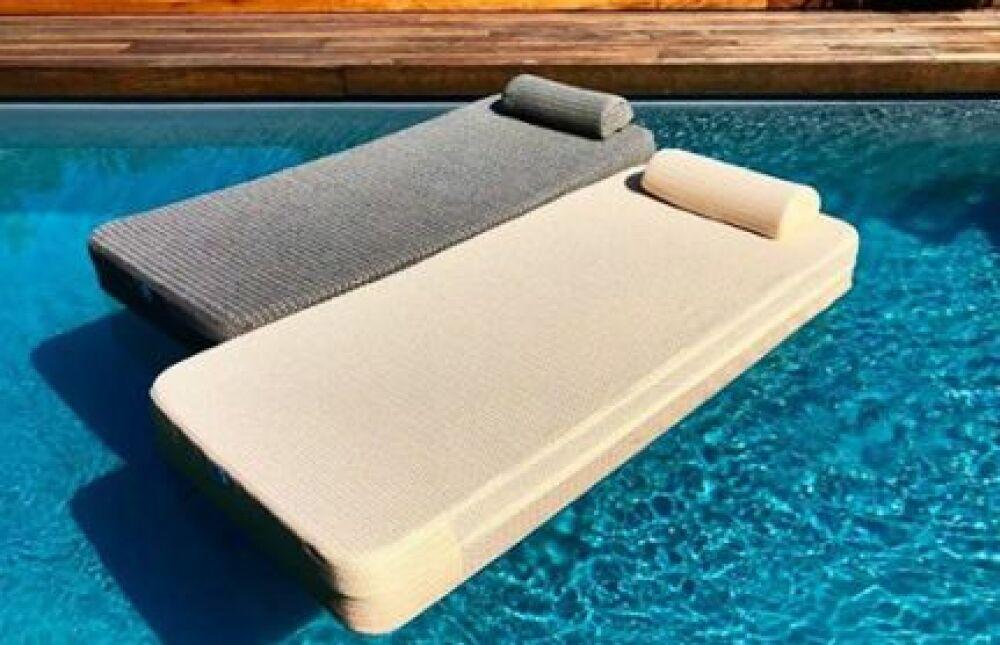 Nouveaux matelas flottants Cozip : Pool Bed© Cozip