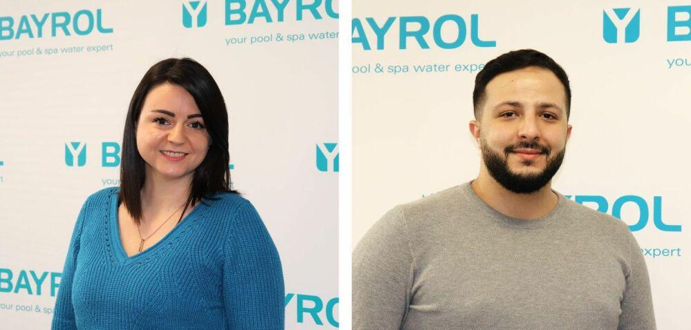 Nouvelle attachée commerciale et nouveau technicien formateur pour Bayrol© Bayrol