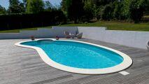 Nouvelles margelles «Stone» pour les piscines Waterair
