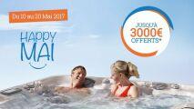 Offrez-vous un spa Sundance avec les offres « Happy Mai »