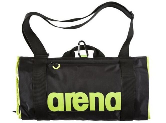 "On a testé le sac Fast Roll en nylon d'Arena  <span class=""normal italic petit"">© Arena</span>"