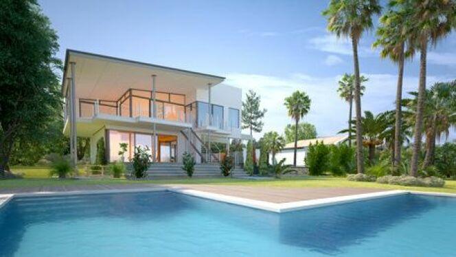Optez pour une piscine d'angle : esthétique et originale