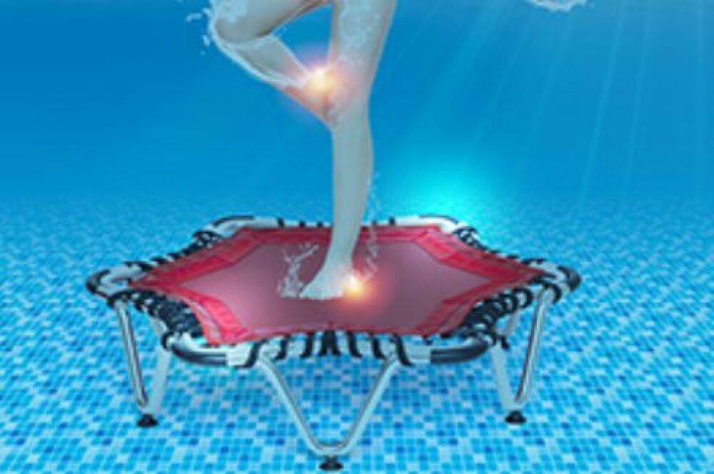 Optimisez vos séances d'aquajuming avec le trampoline Aquajump de Waterform© Waterform
