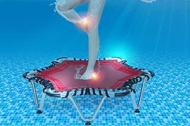 Optimisez vos séances d'aquajuming avec le trampoline Aquajump de Waterform