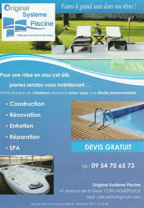 Original systeme piscine aigrefeuille d 39 aunis for Systeme piscine