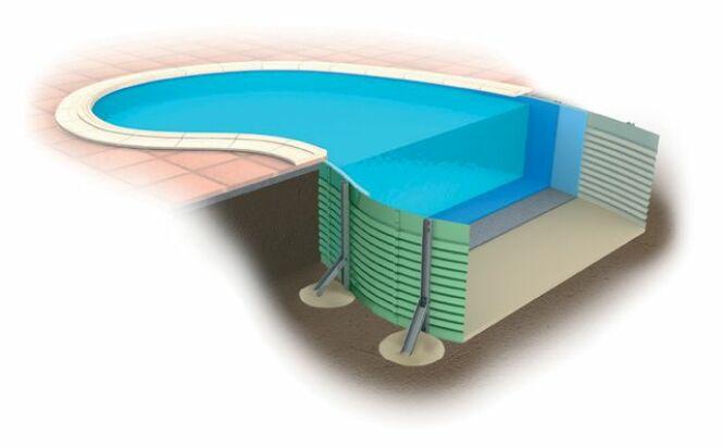 Ossature panneaux en acier ondé, exclusive et brevetée par Waterair