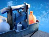 Où stocker les produits de traitement de l'eau d'une piscine ?