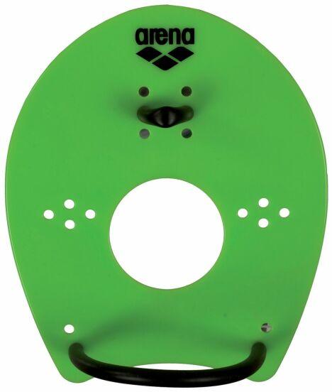 "Paddle Elite hand vert acidulé Arena<span class=""normal italic petit"">© Arena</span>"