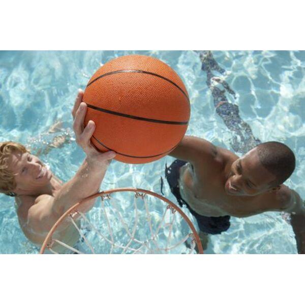 Panier de basket pour la piscine for Panier de basket pour piscine