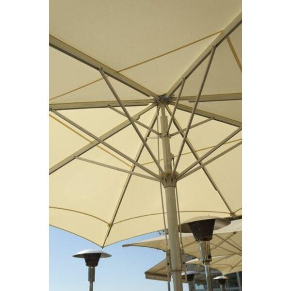 un parasol chauffant pour prolonger l 39 t sur votre terrasse. Black Bedroom Furniture Sets. Home Design Ideas