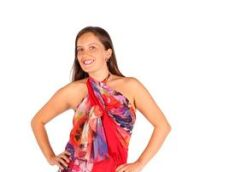 Paréo robe