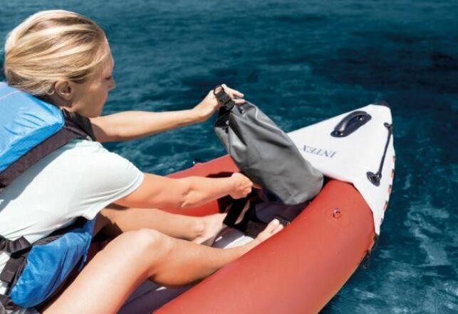 Partez en excursion avec les canoés gonflables Intex