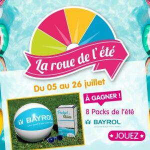 Participez au jeu concours « La roue de l'été » d'Irrijardin !