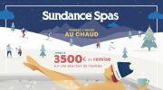 Passez l'hiver au chaud avec Sundance Spas