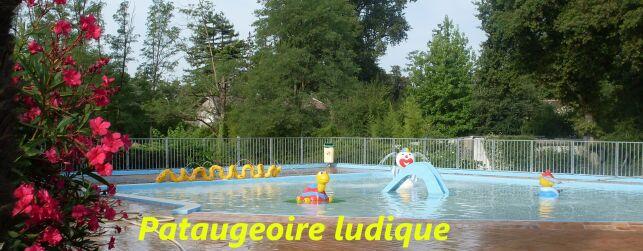Pataugeoire ludique à la piscine de Mérignac