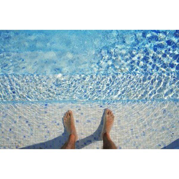 P te de verre pour la piscine un rev tement authentique - Verre pile pour filtre piscine ...