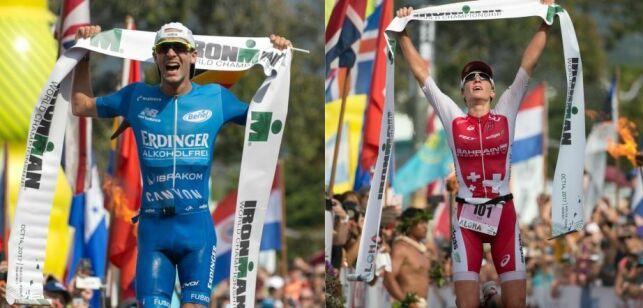Patrick Lange et Daniela Ryf, les vainqueurs de l'édition 2017 de l'Ironman