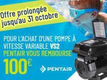 Pentair : Offre de remboursement aux consommateurs
