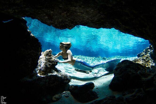 Peut-être croiserez-vous une sirène, au détour d'une grotte ?