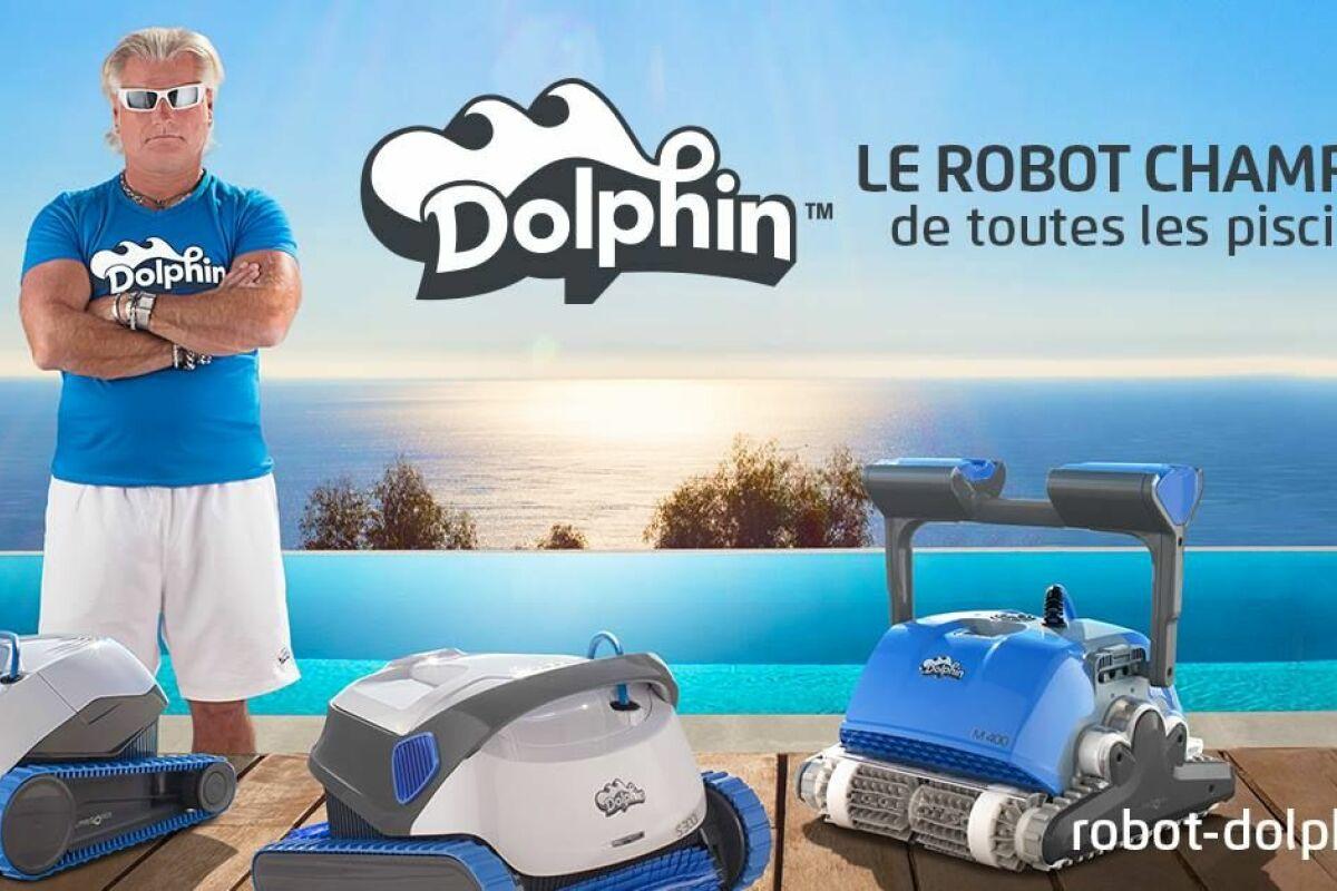 Robot Piscine Plan De Campagne philippe lucas, ambassadeur des robots de piscine dolphin
