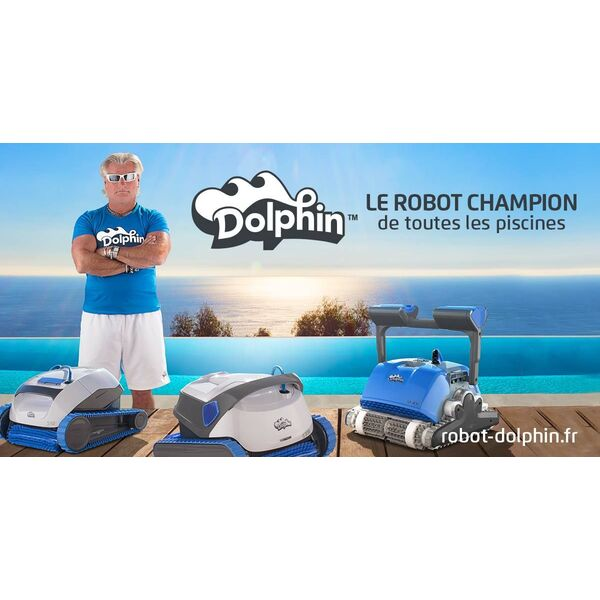 robot piscine dolphin interesting robot de piscine dolphin poolstyle m with robot piscine. Black Bedroom Furniture Sets. Home Design Ideas