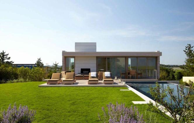 Photo de pool house piscine © Stelle Lomont Rouhani Architects