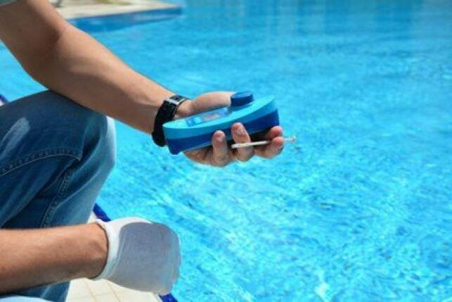 Photomètre pour piscine