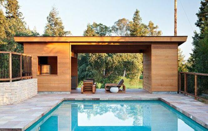 Photos de pool houses © Klopf Architecture