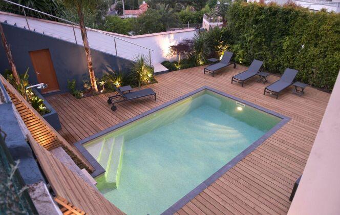 Photos de terrasses de piscine © Carré Bleu - Sasha Gigant
