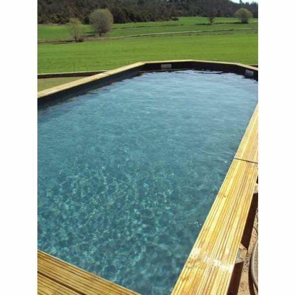 Piscine bois 83 for Construction piscine 83