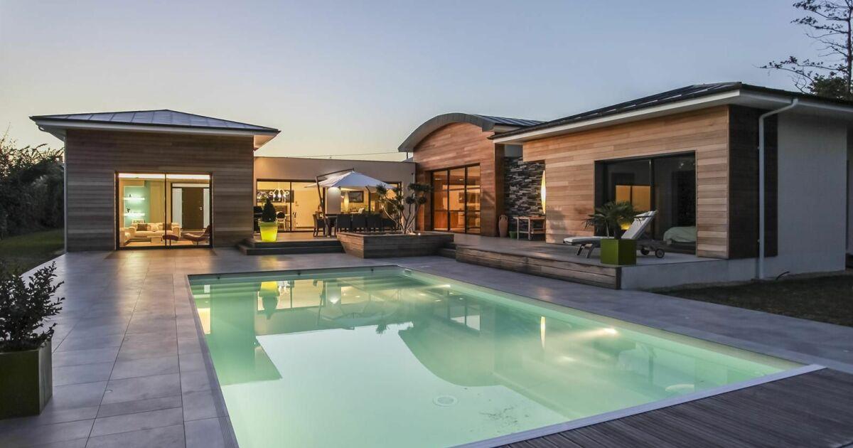 Photos de piscines de taille standard 10x5 piscine for Taille standard piscine rectangulaire