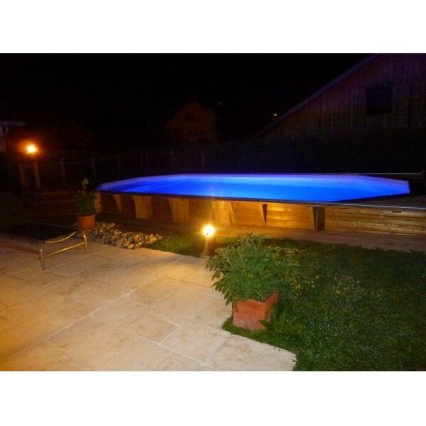 piscine bois 8 pans