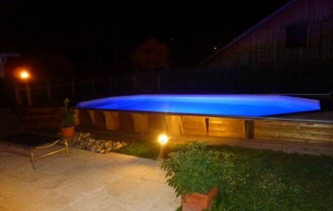 Piscine 8 pans en bois enterrée Arizona Pool  © Arizona Pool
